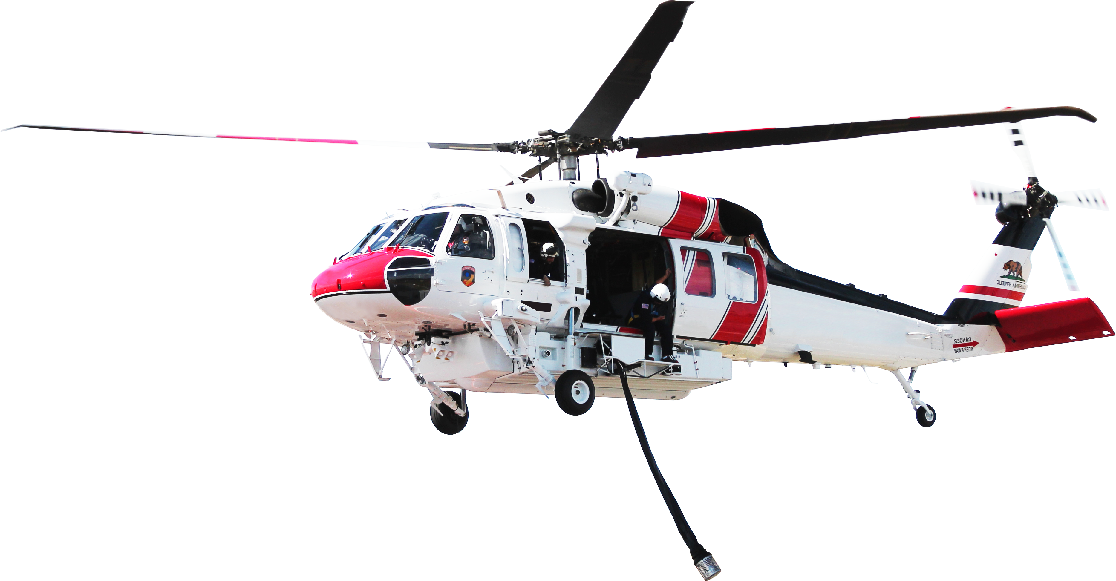 Air Methods firefighting helicopter